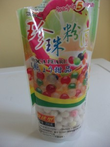 tapioca pearls bubble tea - Copie
